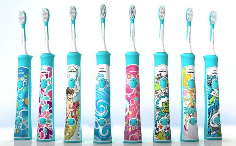 Image result for PHILIPS SONICARE SONIC ELECTRIC RECHARGEABLE TOOTHBRUSH FOR KIDS